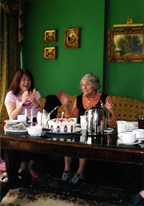 Rosemary and Maggie - Maggie's 90th Birthday in Ireland