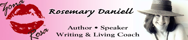 Rosemary Daniell, Author, Speaker, Writing & Living Coach